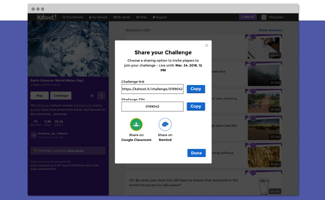 Share your challenge