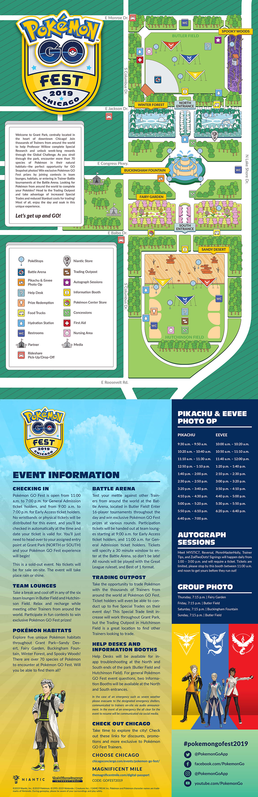 Pokemon Go Chicago Map Pokemon Go Fest (Chicago) Battle Arena Meta : TheSilphArena