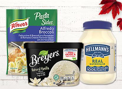 Knorr™, Breyers® & Hellmann's®