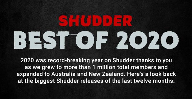 Shudder - Best Of 2020