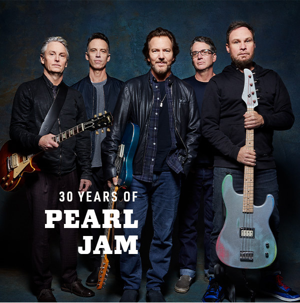 30 Years of Pearl Jame