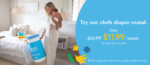 Loop x Charlie Banana Cloth Diaper Rental and Cleaning Service